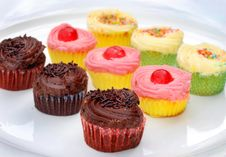 Free Colorful Cupcakes Stock Photos - 8782703