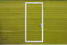 Simple Door Stock Image