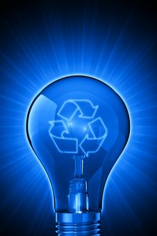 Free Luminous Ideas For Recycling Stock Photos - 8784593