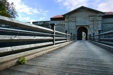 Free Wooden Bridge Royalty Free Stock Photo - 8785235