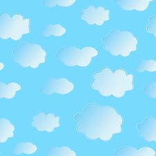Free Vector Illustration Of Clouds Royalty Free Stock Photo - 8786125