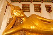 Free Reclining Buddha Image. Stock Photos - 8786583