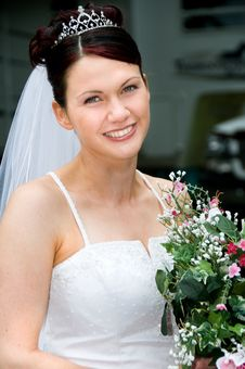 Free White Bride Stock Image - 8786661