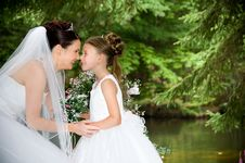 Free White Bride Royalty Free Stock Image - 8786716