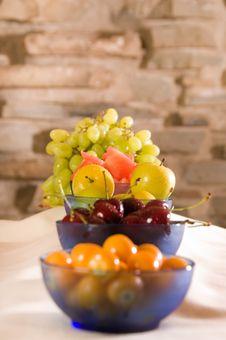 Breakfast Fruits Royalty Free Stock Photo