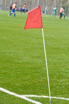 Free Football Ground. Royalty Free Stock Image - 8786846