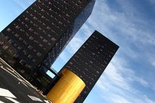 Free Modern Buildings Royalty Free Stock Photo - 8787385