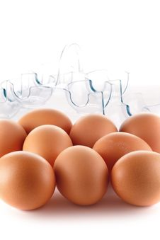 Free Eggs Royalty Free Stock Photography - 8787707