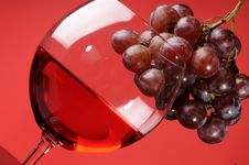 Free Glass Of Wine Stock Photo - 8789050