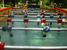 Free Bonzini-style-table-football-players Royalty Free Stock Image - 87852416