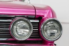 Free Buick LeSabre Headlights Royalty Free Stock Image - 87853266