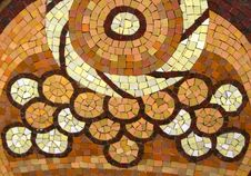 Free Circular-motif-glazed-tile-mosaic Royalty Free Stock Photo - 87853695