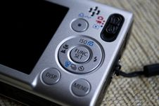 Free Compact-camera-controls-and-lcd-screen Stock Photography - 87853922