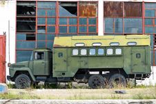 Free Derelict Factory And Truck Stock Photos - 87854143