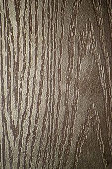 Free Wood-like Finishing On A Metallic Entrance Door. Royalty Free Stock Image - 87854446