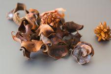 Free Dried Orange Peel Potpourri. Stock Images - 87856374