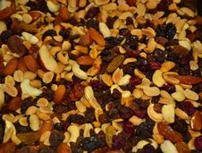 Free Mixed-nuts-and-dried-fruits Royalty Free Stock Photos - 87856428