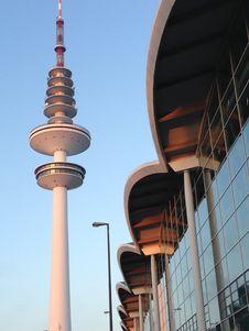 Free Heinrich Hertz Turm And Hamburg Stock Photo - 87856520