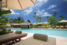 Free View Of Tourist Resort Stock Photography - 87857192