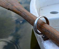 Free Rowboat-oar-and-oarlock- Stock Image - 87857691