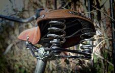 Free Bicycle Seat Royalty Free Stock Image - 87857776