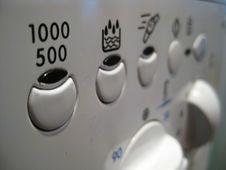 Free Washing-machine-control-panel Royalty Free Stock Image - 87859206