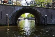 Free Amsterdam Reguliersgracht Seven Bridges Stock Photos - 87862053
