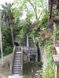 Free Arabic-style-stairway-found-in-monserrate-gardens- Stock Photos - 87862123