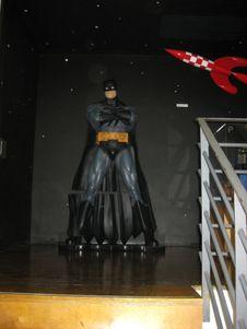 Free Batman-full-size-figurine Royalty Free Stock Image - 87862266