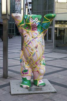 Free Berlin City Bear Statue Royalty Free Stock Photos - 87862318