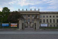 Free Berlin Humboldt University Royalty Free Stock Photos - 87862338