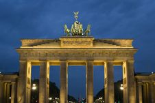 Free Brandenburg Gate Stock Image - 87862471