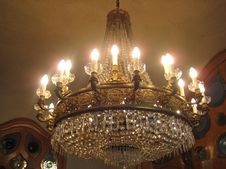 Free Cristal-chandelier Royalty Free Stock Photos - 87862898