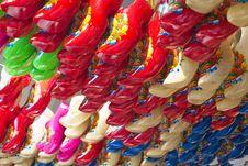 Free Dutch Clogs On Display Stock Photo - 87862950