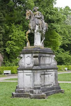 Free Frederick II Of Prussia Equestrian Statue Royalty Free Stock Image - 87863256