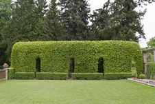 Free Vegetation Tunnel In Potsdam S Roman Baths Garden Royalty Free Stock Images - 87863279