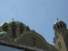 Free Kolyu-ficheto-cathedral-cupolas Royalty Free Stock Photo - 87863425