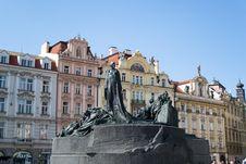 Free Jan Hus Memorial Stock Photography - 87863432