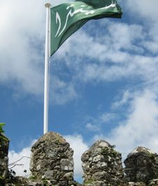 Free Moorish-flag Stock Images - 87863834
