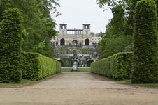 Free Orangery Palace Viewed From Hauptalle Stock Photos - 87864083
