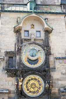Free Prague Astronomical Clock Royalty Free Stock Photography - 87864417
