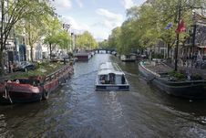 Free Prisengracht Canal Stock Image - 87864491
