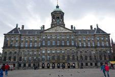 Free Koninklijk Paleis Amsterdam Royalty Free Stock Photos - 87864678