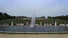 Free Overview Of Garden Terraces And Fountain Of Sanssouci Palace Stock Photo - 87864730