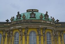 Free Central Bow Of Sanssouci Royalty Free Stock Photos - 87864798