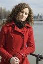 Free Kind Girl Portrait At Riverside Stock Image - 8798311
