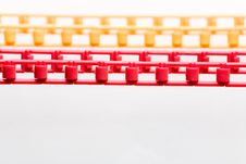 Free Colored Plastic Chain Stock Photography - 8790562