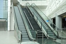 Free Escalator Royalty Free Stock Photography - 8790597