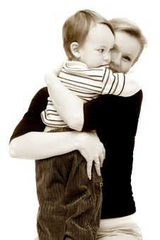 Free Mother And Son Stock Photos - 8791353