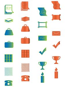Free Icon For Web, Office, Business And Organizer Prese Stock Photography - 8791532
